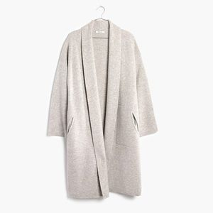 Madewell Rivington Sweater Coat S